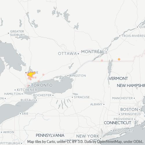 Willow Beach Ontario >> Canada - Postal Code L0E - Pefferlaw, Ontario - Map | Cybo