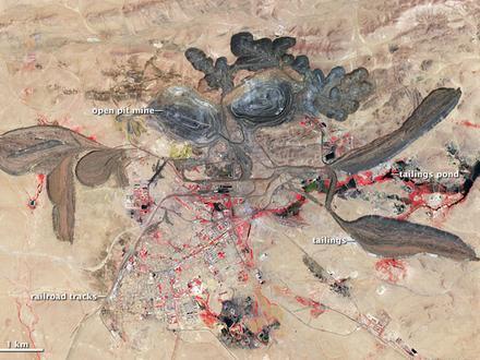 Bayan Obo Mining District Image