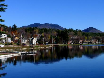 Saranac Lake, New York Image