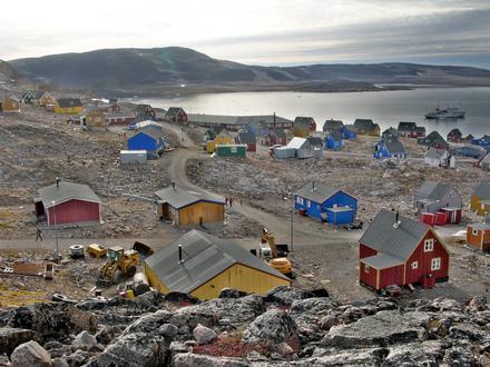 områdenummer grønland